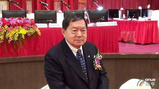 遠東新董事長徐旭東。(鉅亨網記者彭昱文攝)