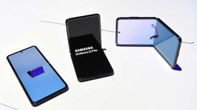 Strategy Analytics:三星顯示在Q1智慧型手機面板市場中維持領先地位(圖片:AFP)