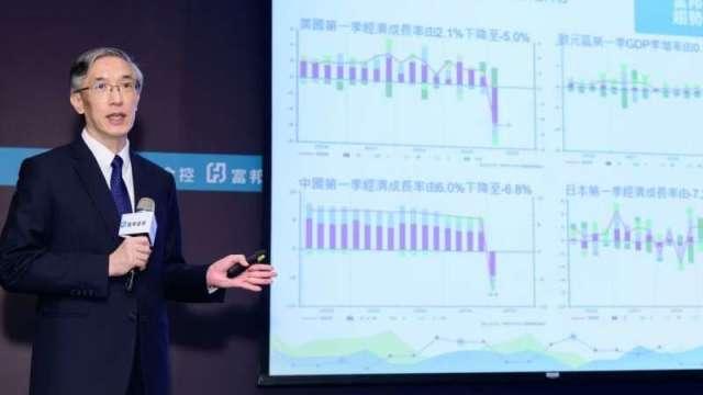 富邦金控首席經濟學家羅瑋。(圖:富邦金控提供)