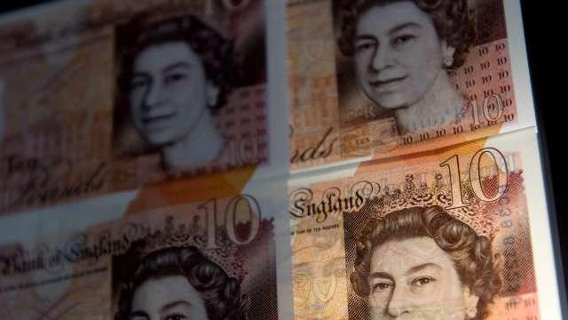 調查:若英歐談判有成果 英鎊有望未來1年上漲4%(圖:AFP)
