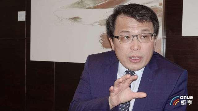 佳元開發建設總經理蔡錫全。(鉅亨網記者張欽發攝)
