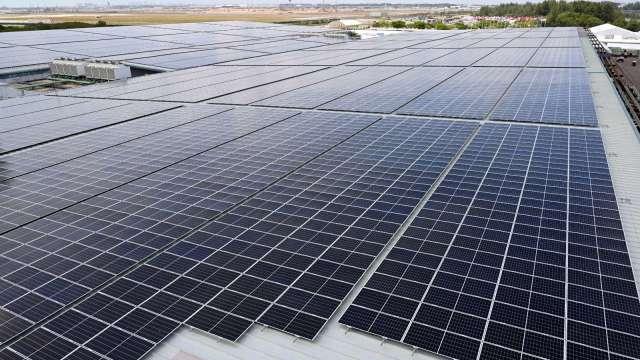 疫情促使太陽能成本驟跌  (圖片:AFP)