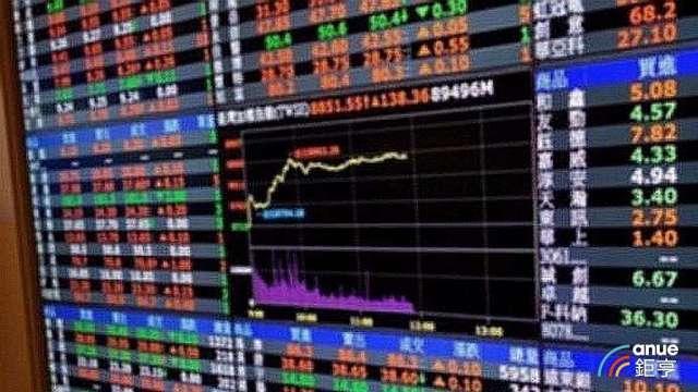 電子股全面發威,大漲近200點飛越12100大關。(鉅亨網資料照)