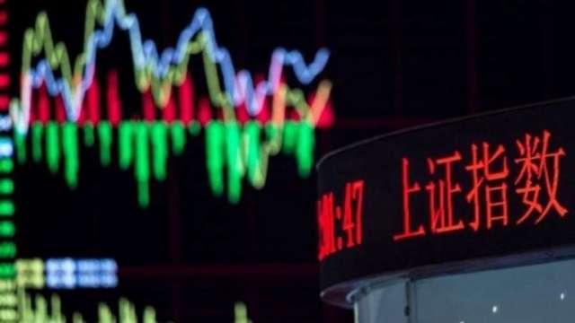 香港國安法拍板 中國股市大漲。(圖:AFP)