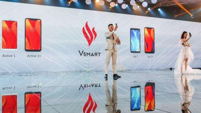 越南Vsmart聯手高通 推出首款5G智慧型手機(圖片:AFP)