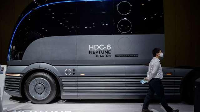 現代汽車力推FCV卡車 已展開歐洲出貨 (圖片:AFP)