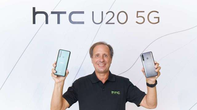 HTC CEO Yves Maitre。(圖宏達電提供)