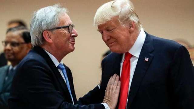 劍指美國!歐盟議員壓倒性多數支持 加快發動貿易報復 (圖:AFP)