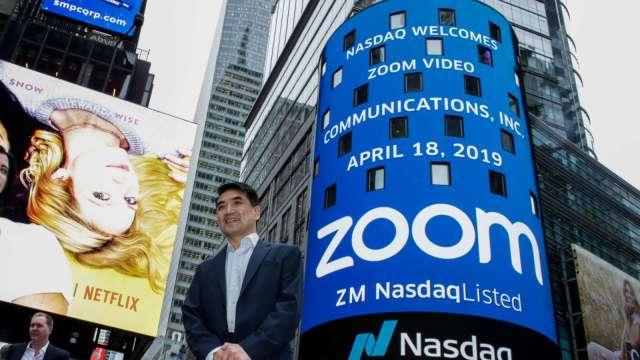 若一半用戶若肯掏錢升級 Zoom可望進帳3.5億美元(圖片:AFP)