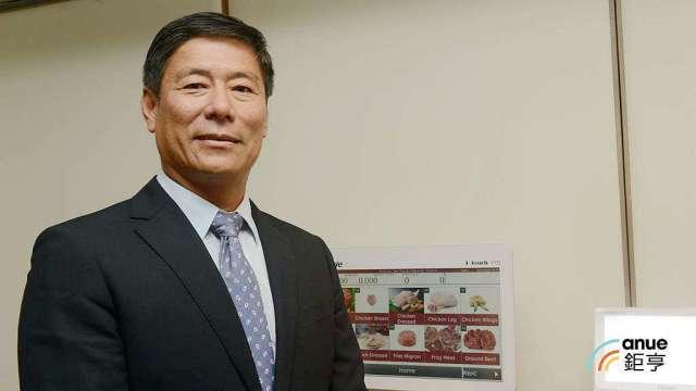 鼎炫-KY董事長傅青炫。(鉅亨網記者張欽發攝)