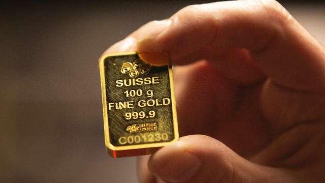全球最大黃金ETF連15周淨流入 創史上最久紀錄。(圖:AFP)