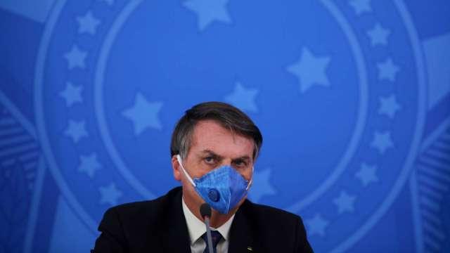 最新!巴西總統確診罹患新冠肺炎 (圖片:AFP)