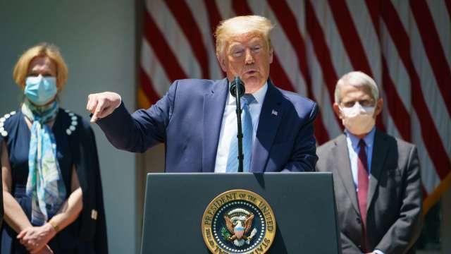 川普致函聯合國 美國正式退出世界衛生組織 (圖片:AFP)