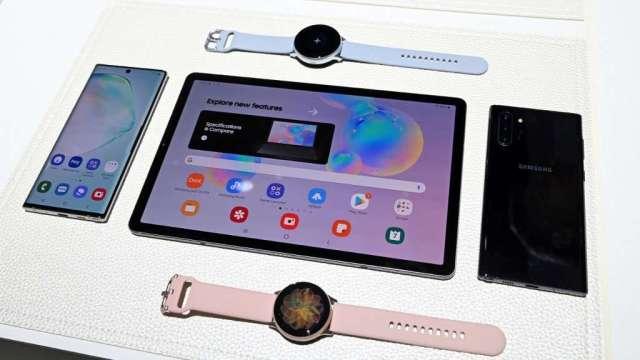 三星確認8月5日發表會 料推出Note20系列手機(圖:AFP)