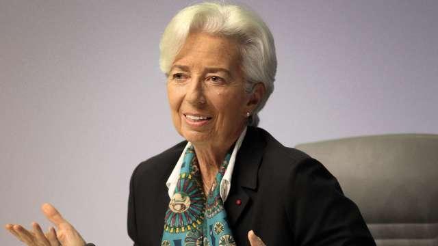 拉加德暗示歐洲央行下次會議可能維持政策不變  (圖片:AFP)