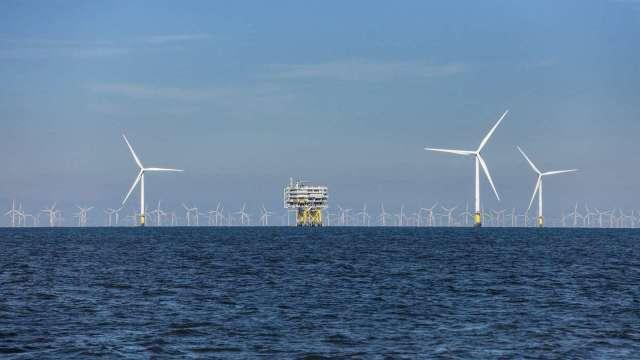 沃旭能源位於英國的Burbo Bank 離岸風場。(圖:沃旭提供)