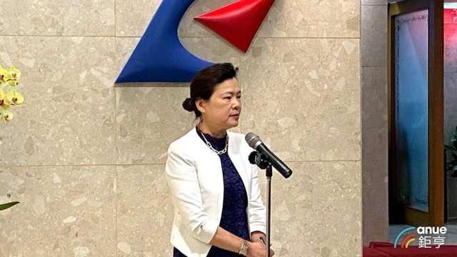 經濟部長王美花。(鉅亨網記者劉韋廷攝)