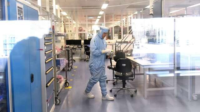跟進台積電 格芯宣布在紐約州購地擴廠。(圖:AFP)
