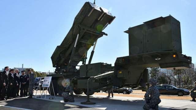 愛國者三型(PAC-3)飛彈示意圖 (圖片:AFP)