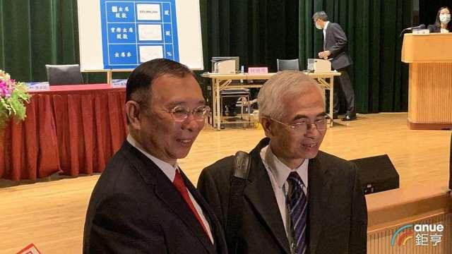 友訊董事長李中旺(右)接掌執行長一職。(鉅亨網資料照)