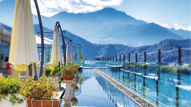 日月潭雲品溫泉酒店暑假期間周末訂房率已高達90%。(圖:雲品提供)