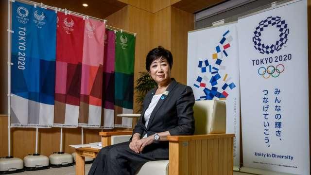 小池百合子:東京奧運務必開賽、成為戰勝疫情的象徵   (圖片:AFP)