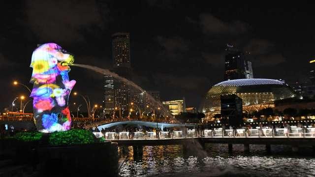 新加坡第2季GDP年減12.6% 陷入經濟衰退(圖:AFP)