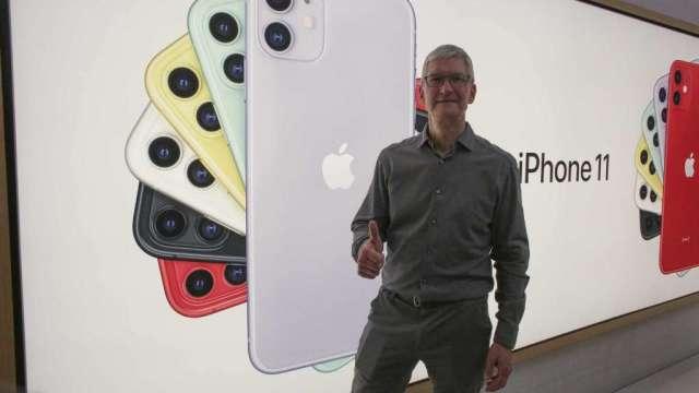 傳蘋果須向三星支付9.5億美元罰款  (圖:AFP)