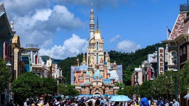 重開不到1個月! 香港迪士尼再度閉園(圖片:AFP)