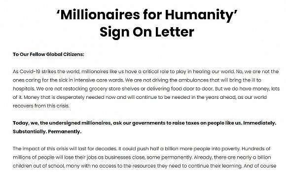 圖片來源:millionairesforhumanity