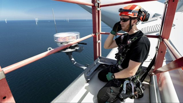 沃旭能源招募風場運維工程師 徵3類工程師人才。(圖:AFP)