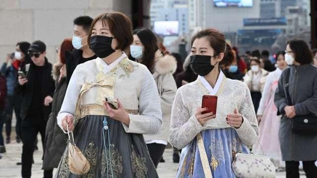 南韓調查發現肺炎抗體持有率極低 集體免疫不可行 (圖片:AFP)