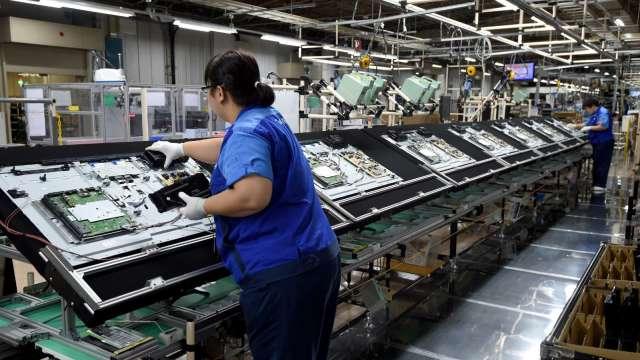 韓廠退出LCD市場,謝勤益:明年電視面板價格將由中國廠商主導。