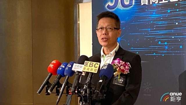雲達總經理楊麒令。(鉅亨網記者劉韋廷攝)