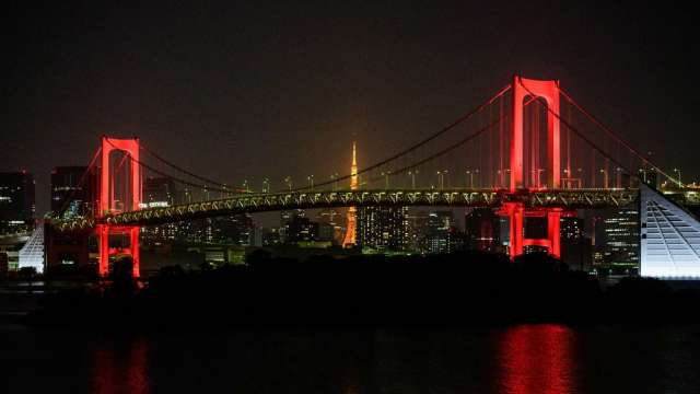 日媒:東京疫情警戒將提升到最高層級 (圖片:AFP)