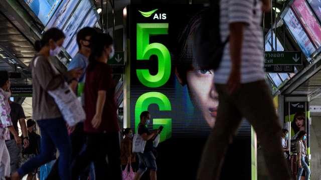華為入選泰國最大電信5G核心網路建設競標   (圖片:AFP)
