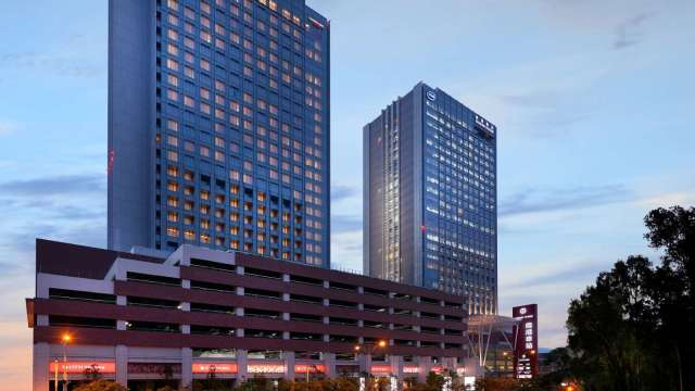 台北六福萬怡酒店。(圖:六福提供)