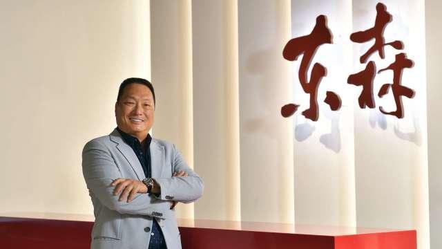 東森集團總裁王令麟。(圖:東森購物提供)