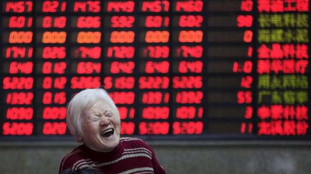 傳A股將擴大入富時 奔牛行情啟動可望續創新高。(圖:AFP)