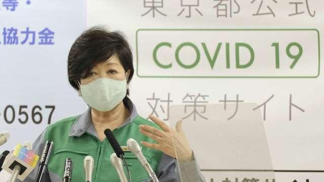 東京肺炎確診創新高!16日上看280人 (圖片:AFP)