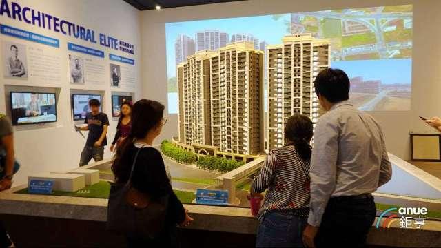 統計顯示,北台灣房市上半年推案量5632億元年減5.5%。(鉅亨網記者張欽發攝)