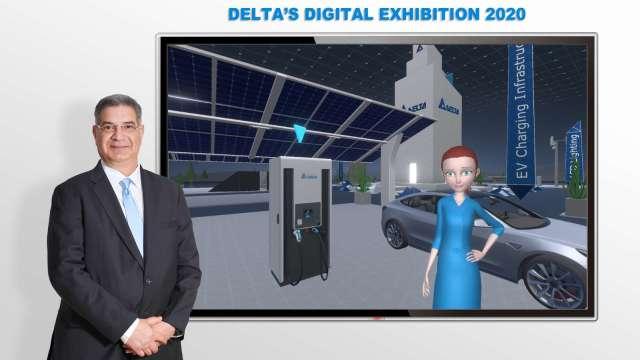 台達電今(16)日舉辦線上數位展,推出三大應用,鎖定歐洲、中東及非洲(EMEA)地區市場。(圖:台達電提供)
