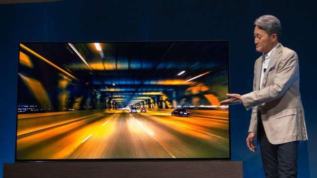 疫情帶動電視需求 分析師認為面板供應可能出現不足 (圖片:AFP)