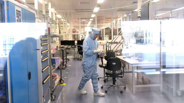 IMEC與格芯攜手推全新AI晶片 佈局深度神經網路運算。(圖:AFP)
