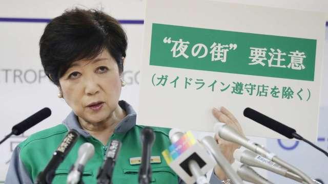 連2日創新高!東京又293人新冠肺炎確診  (圖片:AFP)