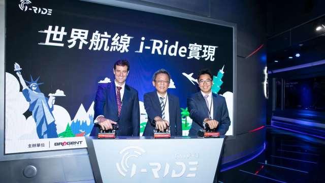 由左至右分別為澳洲辦事處代表Gary Cowan、智崴集團董事長歐陽志宏、加拿大駐台北貿易辦事處副處長Rupert Cao。(圖:智崴提供)