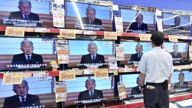 宅經濟加換購需求 日本6月50吋以上大尺寸電視銷量大增 (圖片:AFP)