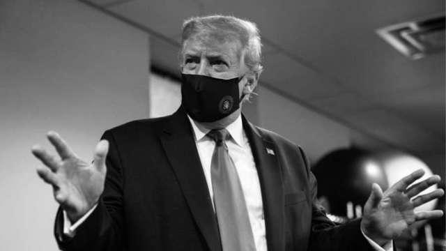 佛州封鎖將近?川普稱戴口罩才愛國 重啟疫情記者會。(圖片:AFP)