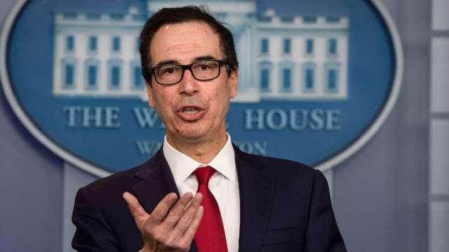 梅努欽:共和黨新一輪刺激聚焦就業、學童返校 (圖:AFP)