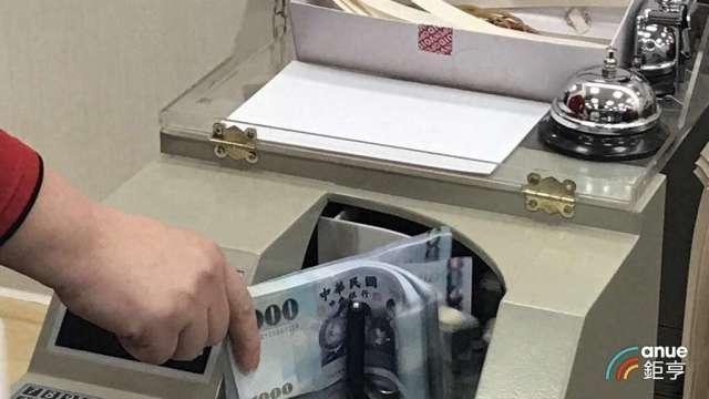 台幣再度飆升1.25角至29.44元。(鉅亨網資料照)